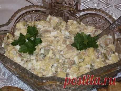 "Tasty and simple salad ""Gostiny dvor\"" in preparation - All for you!"