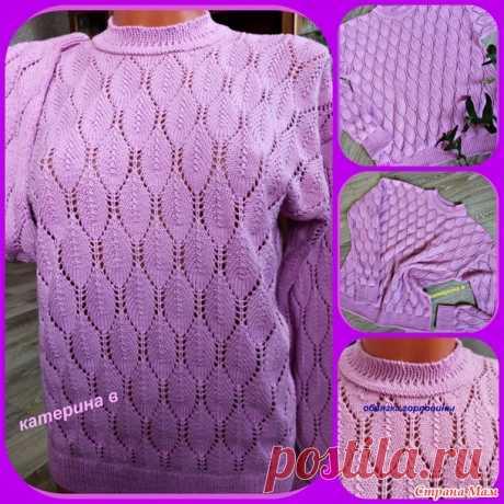 Пуловер - Вязание - Страна Мам