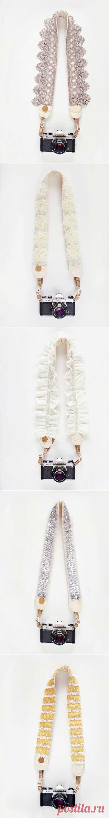 Ремни для фотоаппарата / Гаджеты / Модный сайт о стильной переделке одежды и интерьера