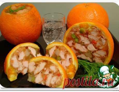 """Закуска """"Оранжевое настроение"""" – кулинарный рецепт"""