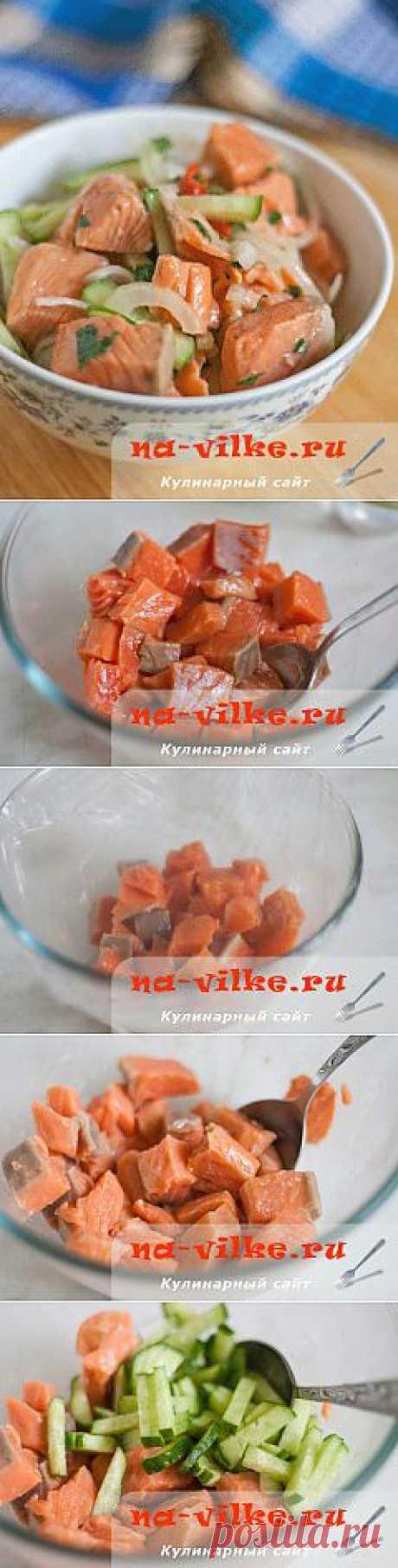 Хе из красной рыбы по-корейски - его хочется есть и есть, не отрываясь..