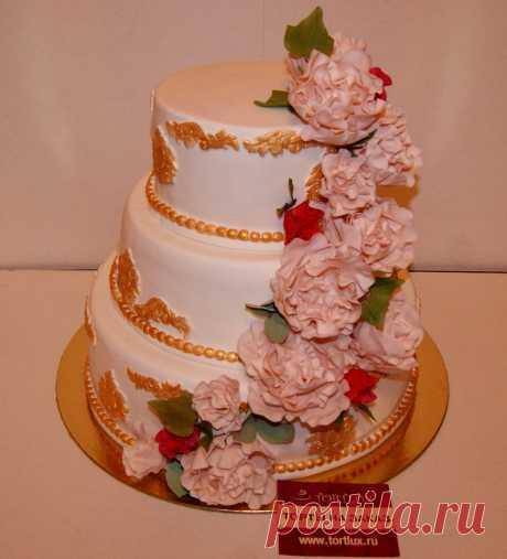Свадебный торт.Вес 10 кг.