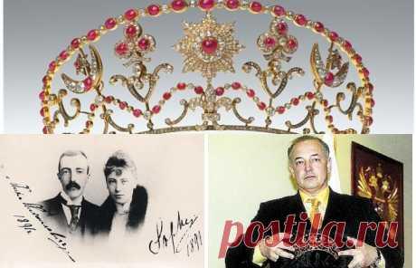 Малая корона дома Романовых: На пересечении судеб потомков Пушкина и монарших династий России и Англии