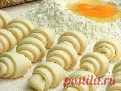 ТВОРОЖНОЕ ТЕСТО !!!  **Топ-2 рецепта:  Для рулетиков, Для пирога с яблоками.