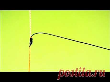 Отводной поводок на окуня | как привязать отводной поводок | самоделки для рыбалки | рыбалка 2020