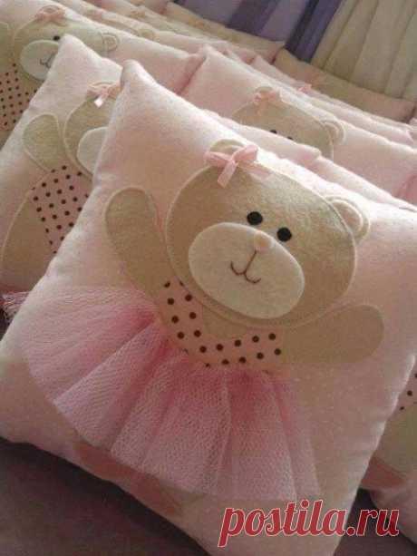 Идеи и выкройки декоративных подушек