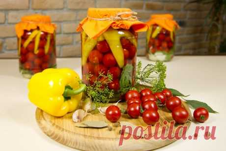 Как консервировать помидоры черри зиму - 8 лучших рецептов Как консервировать помидоры черри? Процесс практически не отличается от заготовки прочих сортов томатов, но имеет ряд нюансов, а именно...