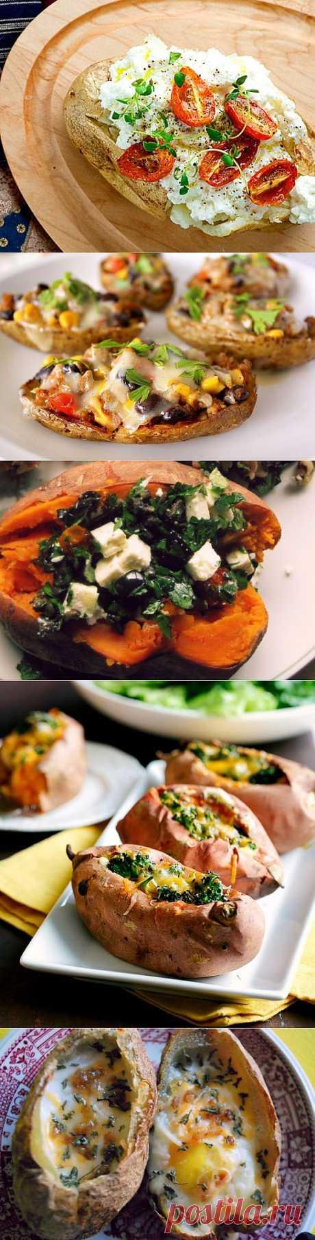 12 рецептов запечённого картофеля