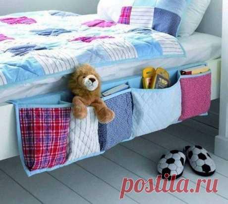 Как Сделать Удобный Органайзер Висит Кровать | В WHOot