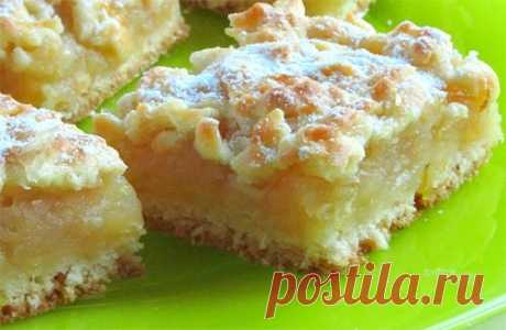 Яблочно-лимонный пирог ⋆ Хозяюшка