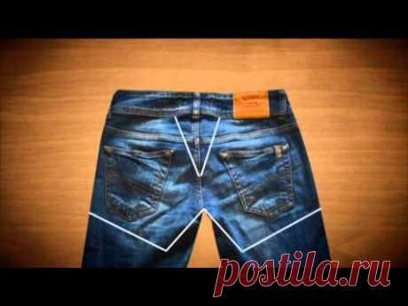 Как за полчаса сделать из старых джинсов модную жилетку? | Smootrim