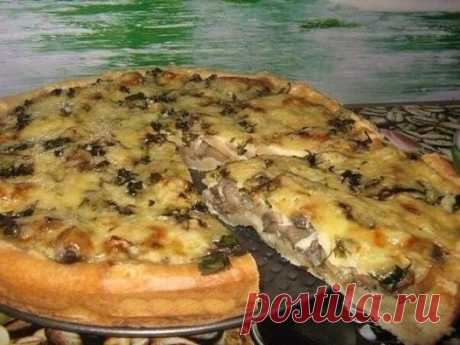 (108) Простые рецепты от мишутки - Мега грибной пирог