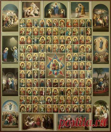 ¿Por qué es así muchos iconos de la Madre de Dios?