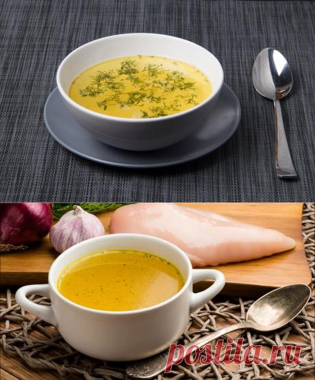 Прозрачный бульон для супов