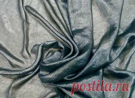 Шифон блестящий - с металлической нитью - купить ткань онлайн через интернет-магазин ВСЕ ТКАНИ