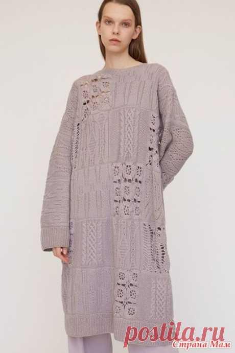 . Модели платьев для вдохновения - Вязание - Страна Мам