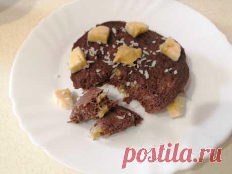 Запечённая шоколадная овсянка с бананом - вкуснейший ПП завтрак   Рецепты ПП - худеем вкусно!   Яндекс Дзен