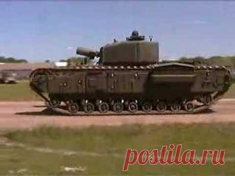 Churchill Tank - YouTube