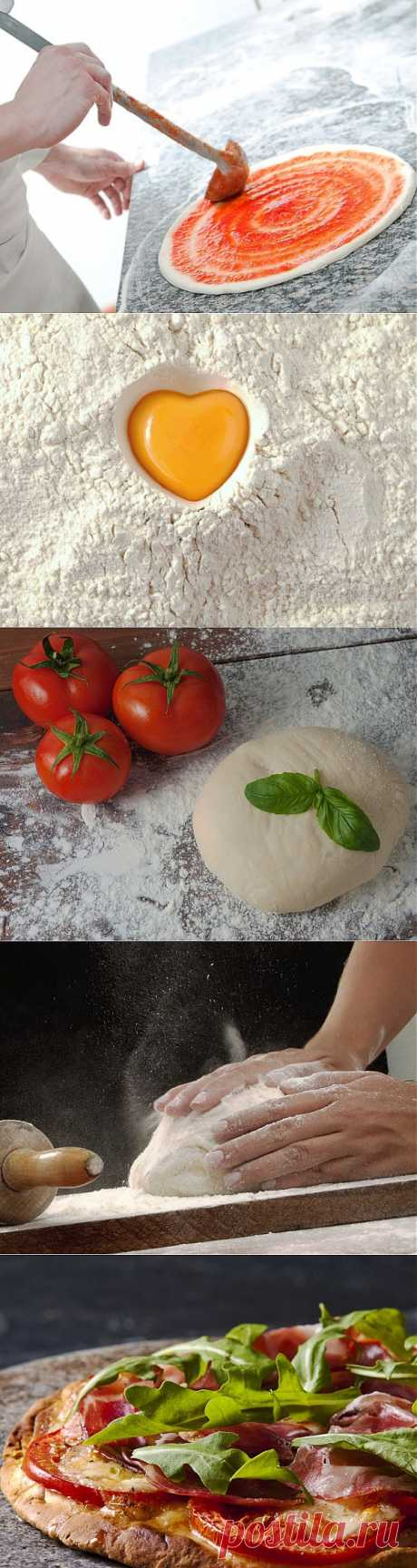 Тесто для пиццы: ТОП-5 рецептов (видео) - lady.tochka.net