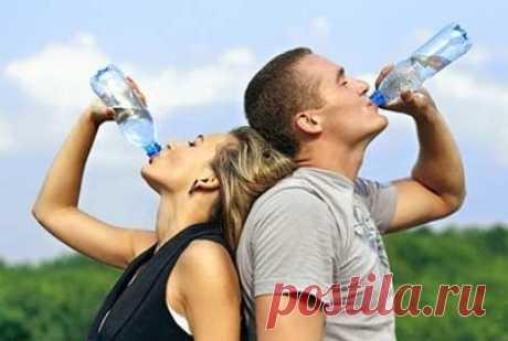 Как пить воду и худеть — Мегаздоров