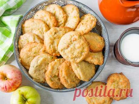 Рецепт овсяного печенья с орехами на Вкусном Блоге
