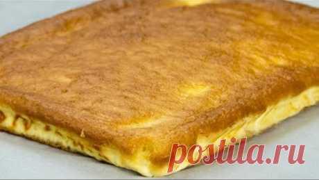 Рецепт для новичков! Вкуснейший и очень простой в приготовлении творожный пирог.   Appetitno.TV