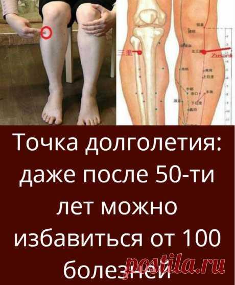 Точка долголетия: даже после 50-ти лет можно избавиться от 100 болезней