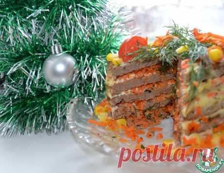 """Торт печеночный """"Очередной"""" – кулинарный рецепт"""