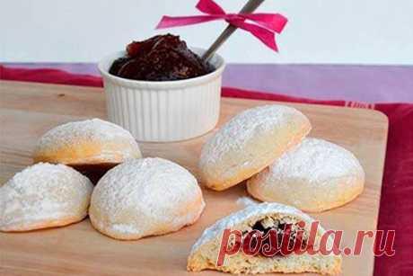 Печенье с джемом Капучино