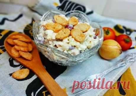 (6) Салат с курицей, грибами и фасолью🥗🍗 - пошаговый рецепт с фото. Автор рецепта Аля Слизовская . - Cookpad