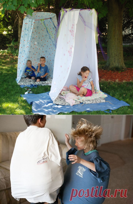 20 inexpensive ways to occupy the child in the summer