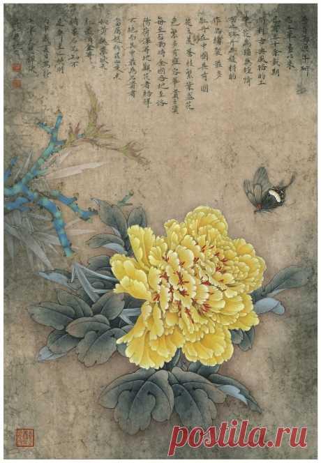 Китайская живопись от Zhou Zhongyao - vozeli.com
