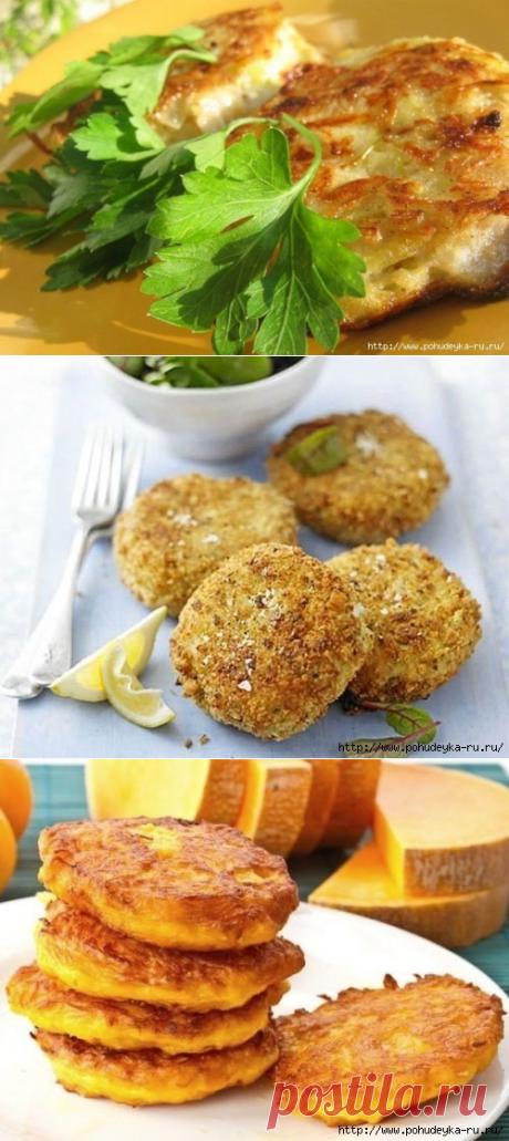 10 рецептов диетических котлет без мяса!