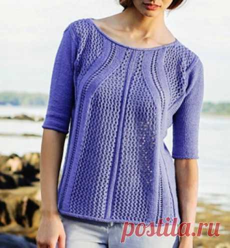 Пуловер Marbore (дизайнер - Norah Gaughan).