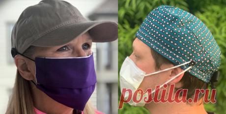 7 простых идей, которые можно легко применить, чтобы не болели уши от ношения маски (новые идеи для рукодельниц)   МНЕ ИНТЕРЕСНО   Яндекс Дзен