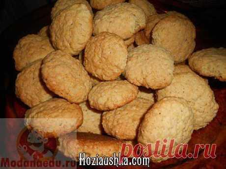 Рецепт - Песочное печенье - видеорецепт