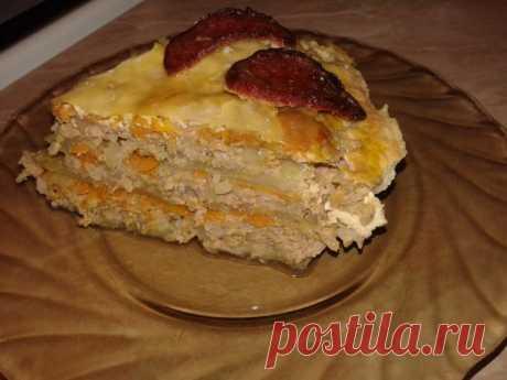 Капустная запеканка с фаршем в мультиварке — Sloosh – кулинарные рецепты