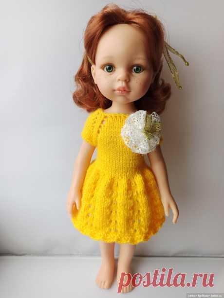 Новый мк платья для Паолок спицами / Вязание для кукол / Бэйбики. Куклы фото. Одежда для кукол