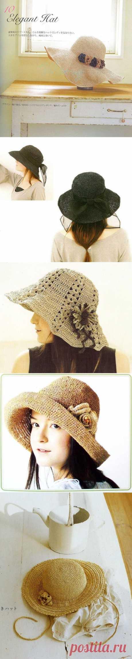 Элегантные шляпки - .
