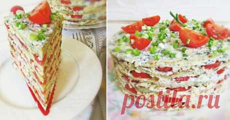 La torta de calabacín