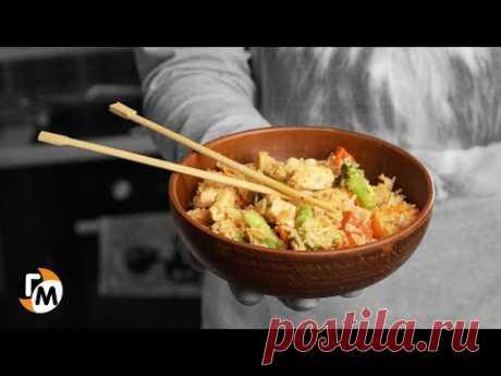 Быстрый ужин на сковороде — Курица Терияки (что приготовить на ужин) — Голодный Мужчина (ГМ, #193)