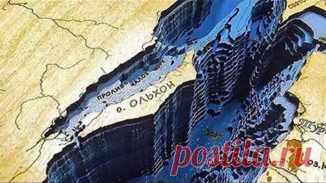Как выглядит Байкал без воды. Самое глубокое озеро планеты!