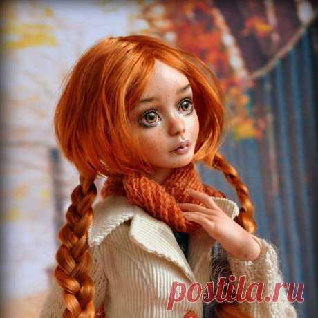 Элизабет или просто Лиззи ☺ Девочка будет принимать участие на Весеннем балу с 5 по 8 марта, подиум 13 😊 Люблю это число!  #кукла #красиваякукла #фарфоровыекуклы #фарфор #бжд #шарнирка #шарнирнаякукла #ручнаяработа #подарок #bjd #bjddoll #porcelaindolbjd #art #artdoll #рыжик