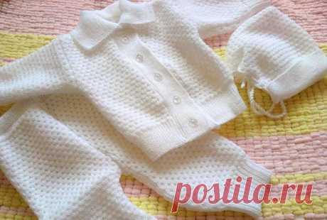 Практичная и удобная одежда для малышей своими руками