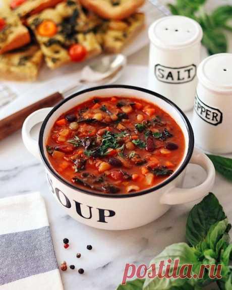 Тосканский овощной суп «Риболлита»