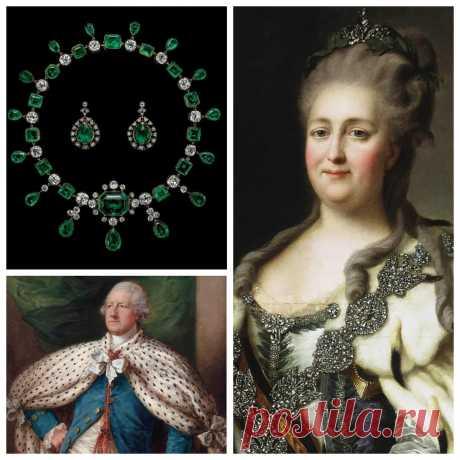 Драгоценности Екатерины II: изумруды для британского посла | Run the Jewels | Яндекс Дзен