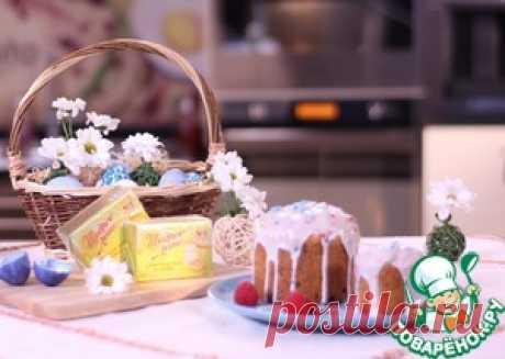 Праздничная глазурь для пасхального кулича - кулинарный рецепт
