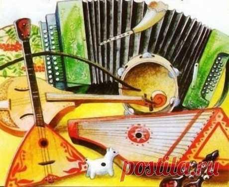 Картинки русских народных инструментов (40 фото) ⭐ Забавник