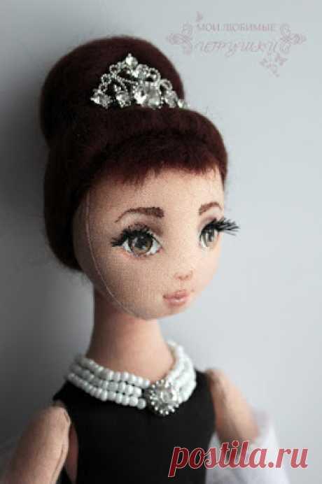 Блог Мои любимые игрушки. Анна Балябина, авторские куклы и игрушки: Роспись лица текстильной куклы. Мастер-класс