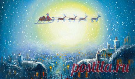 Ангелы знают, что тебе нужно. В новогоднюю ночь они дарят всем удивительные подарки! Надо только суметь их увидеть...